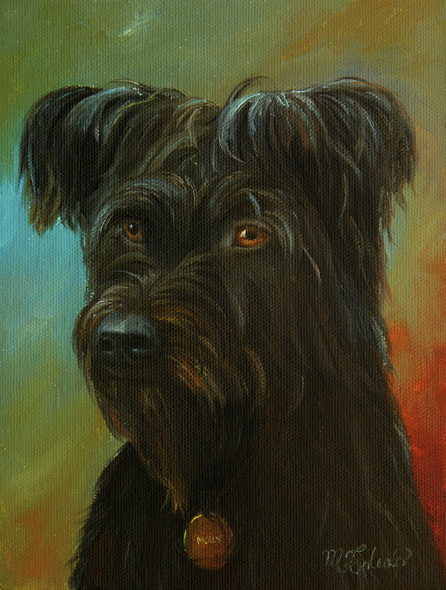 Commission a pet portrait, Fine art