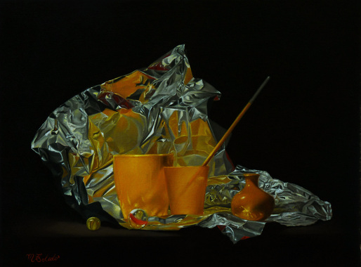 Oil painting, still life, Atlanta painter
