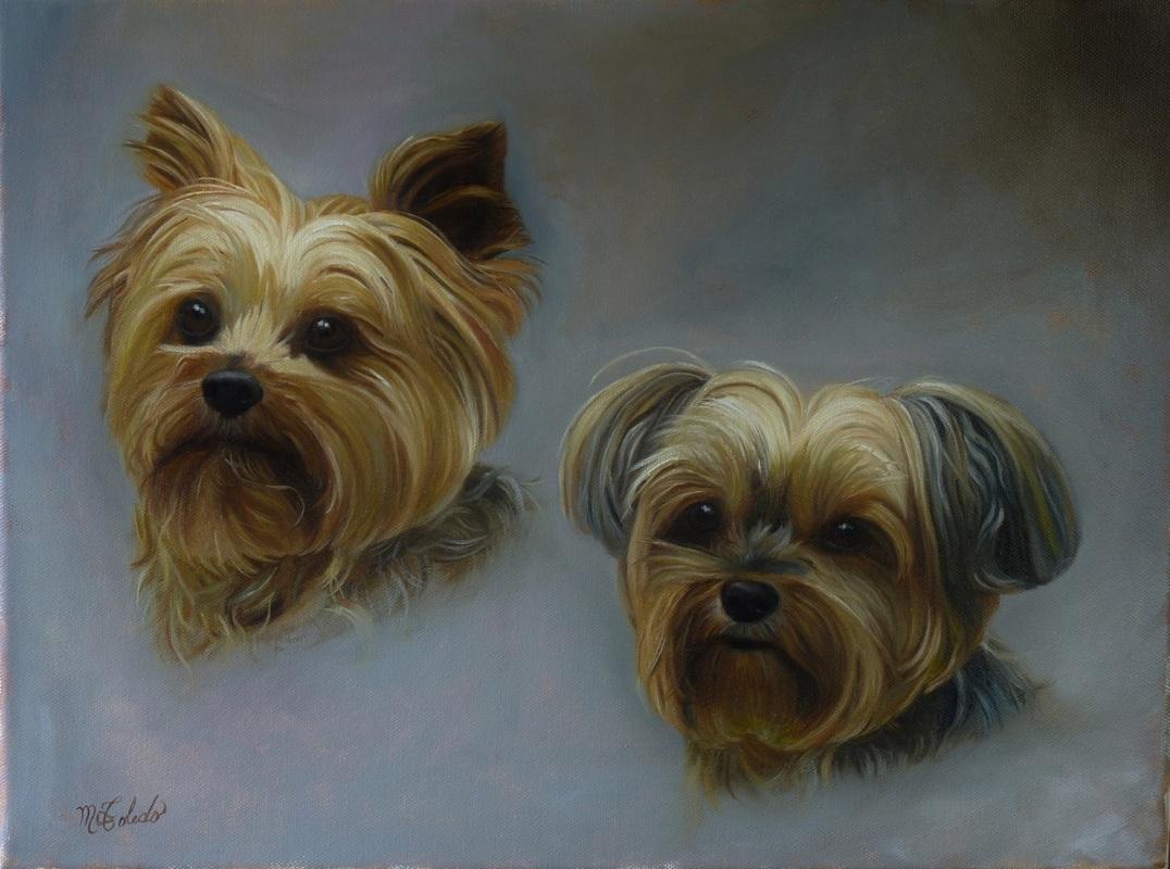 Atlanta artist pet portrait