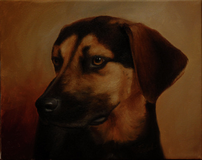 Get an oil portrait of your pet