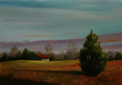 Fall Landscape, oil apintings,
