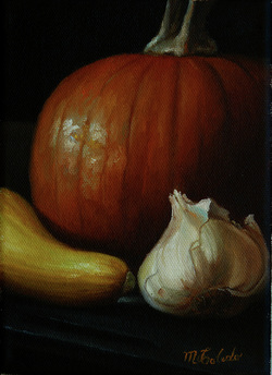 Fine art oil paintings, still life