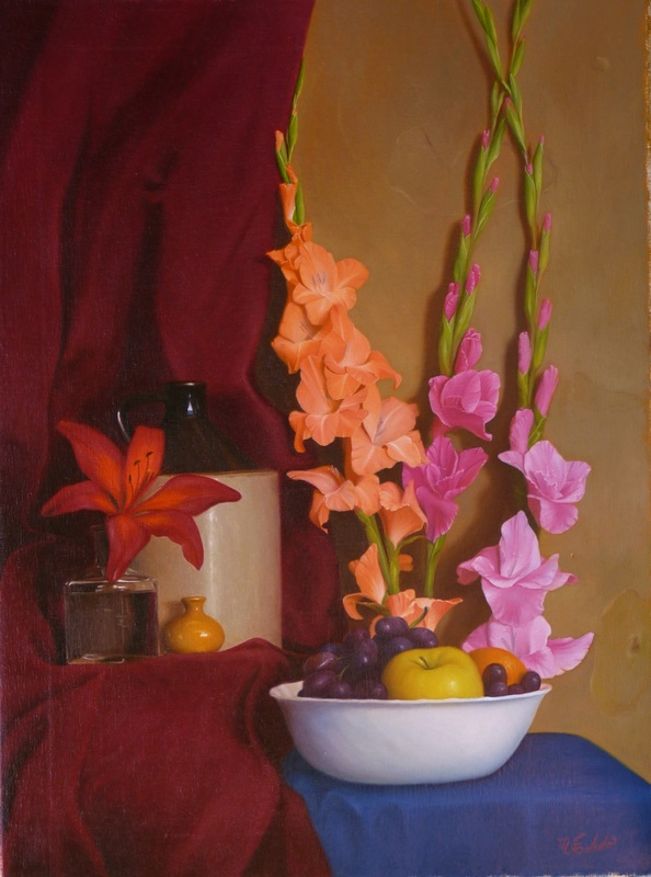 Still life paintings, Atlanta artist