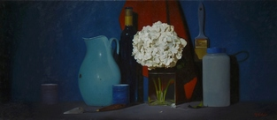 Hydrangea paintings