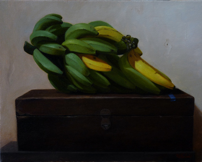 Still life, oil painting