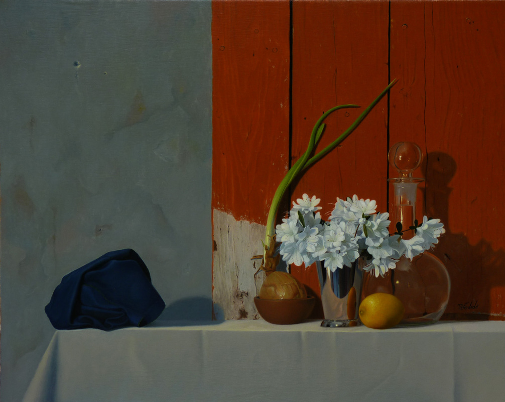 Still life paintings by Nicaraguan artist